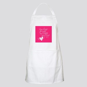 Change Your Life Light Apron