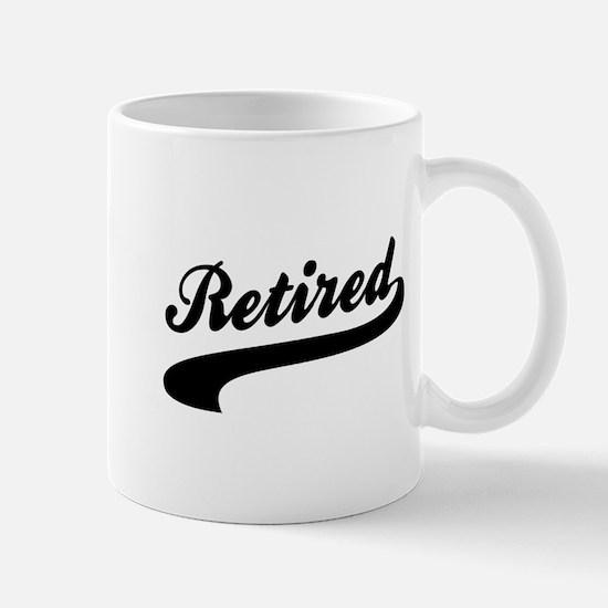 Relax I'm Retired Mug
