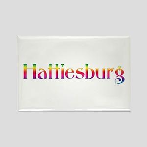 Hattiesburg Rectangle Magnet