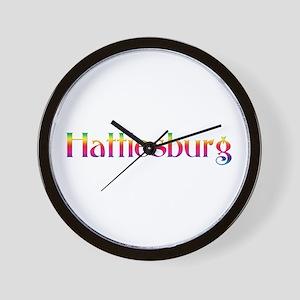 Hattiesburg Wall Clock