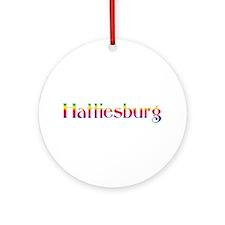 Hattiesburg Ornament (Round)