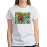 Irises & Ruby Cavalier Women's T-Shirt