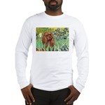 Irises & Ruby Cavalier Long Sleeve T-Shirt