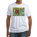 Irises & Ruby Cavalier Fitted T-Shirt