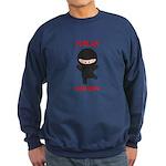 Ninja Barber Sweatshirt (dark)