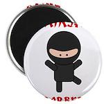 Ninja Barber Magnet