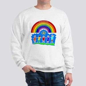Rainbow Principles Kids Sweatshirt