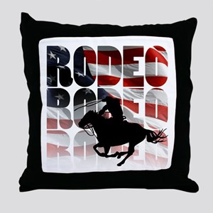 rodeo-44 Throw Pillow