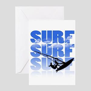 windsurfer Greeting Cards