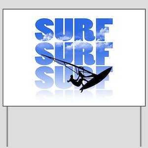 windsurfer Yard Sign