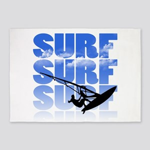 windsurfer 5'x7'Area Rug