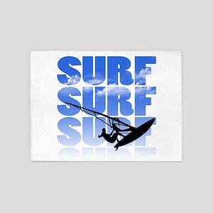 windsurfer 5'x7'Area Rug