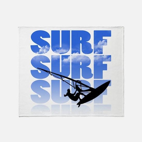 windsurfer Throw Blanket
