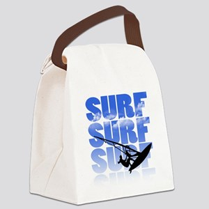 windsurfer Canvas Lunch Bag