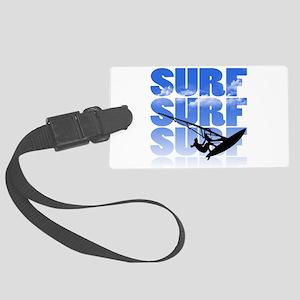windsurfer Luggage Tag