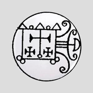 "Demon Sigil Orobas 3.5"" Button"