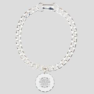 Persuasion, Jane Austen Charm Bracelet, One Charm