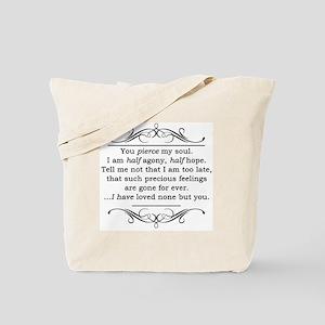 Persuasion, Jane Austen Tote Bag