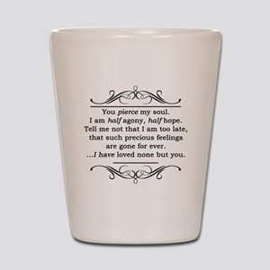 Persuasion, Jane Austen Shot Glass