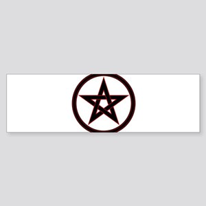 pentacle pentagram Bumper Sticker