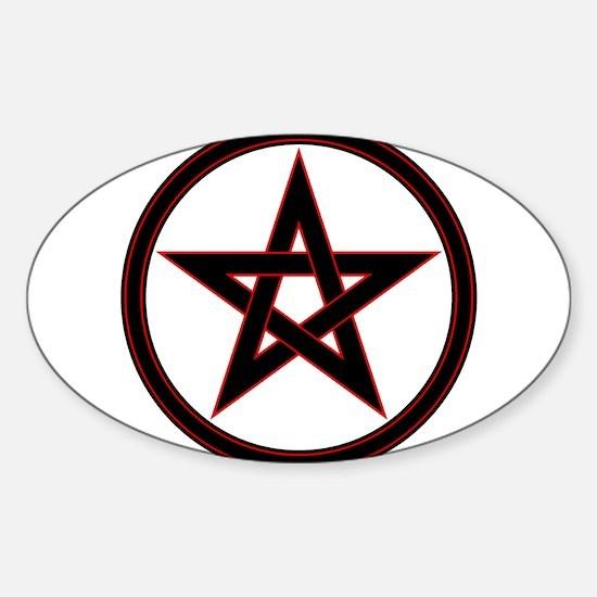 pentacle pentagram Decal