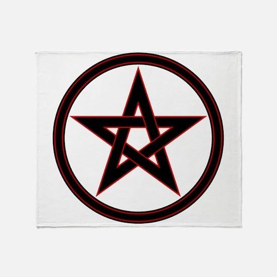 pentacle pentagram Throw Blanket