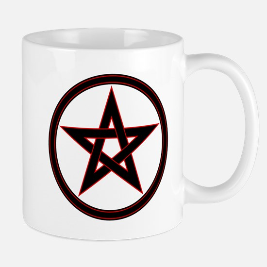 pentacle pentagram Mugs