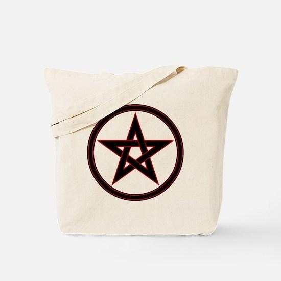 pentacle pentagram Tote Bag