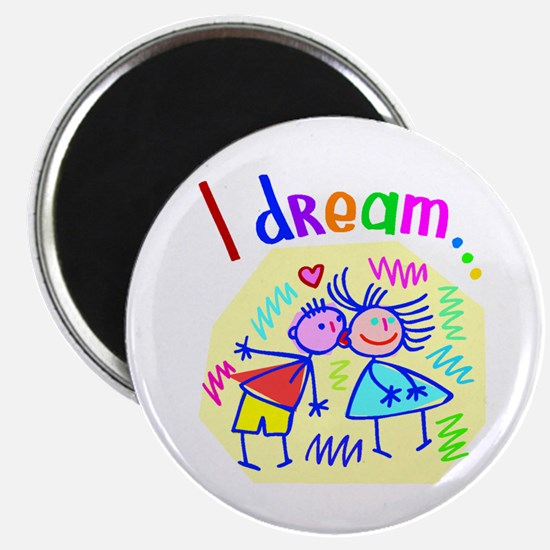 I Dream of Love Magnet