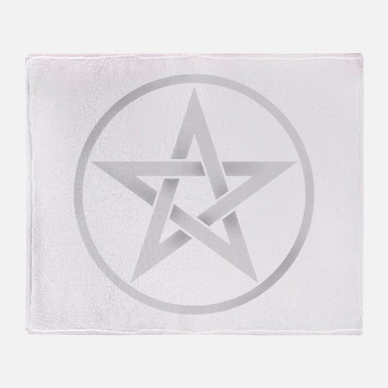 Funny Pentagram Throw Blanket