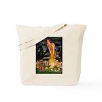 Fairies & Ruby Cavalier Tote Bag