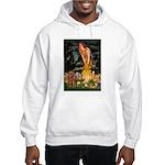 Fairies & Ruby Cavalier Hooded Sweatshirt