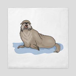 Sea Lion Queen Duvet
