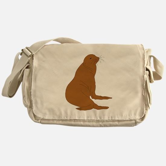 Sea Lion Messenger Bag