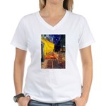 Cafe & Ruby Cavalier Women's V-Neck T-Shirt