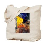 Cafe & Ruby Cavalier Tote Bag