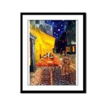 Cafe & Ruby Cavalier Framed Panel Print
