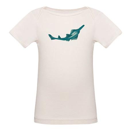 sawfish, saw fish, green, fish, animal T-Shirt