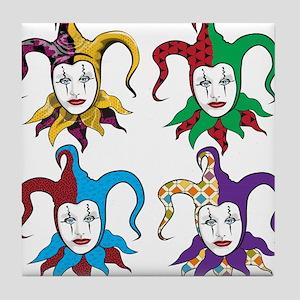 4 Jesters Tile Coaster