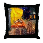 Cafe & Ruby Cavalier Throw Pillow