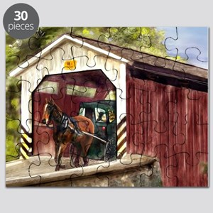 Buggy on Covered Bridge Puzzle