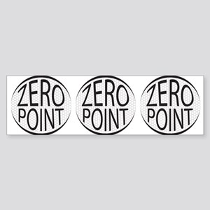Zero Point Glaze Sticker (Bumper)