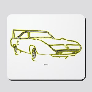 Winged Warrior Mousepad