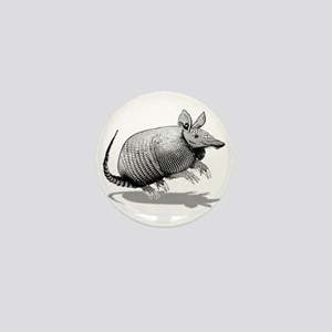 Armadillo Mini Button