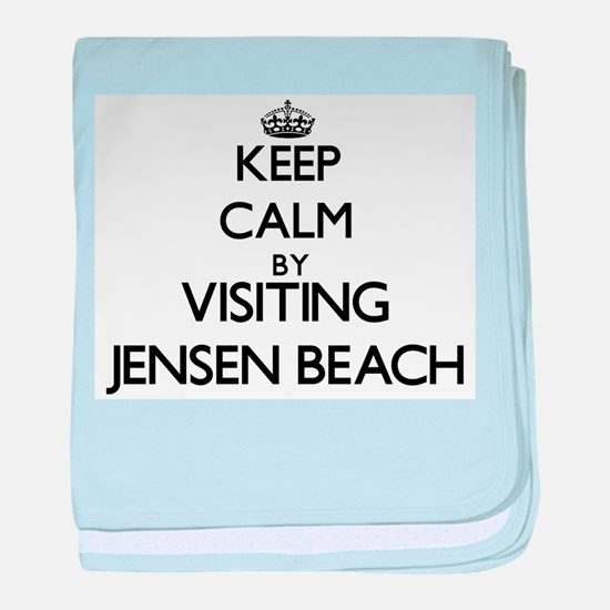 Cute Jensen beach florida baby blanket