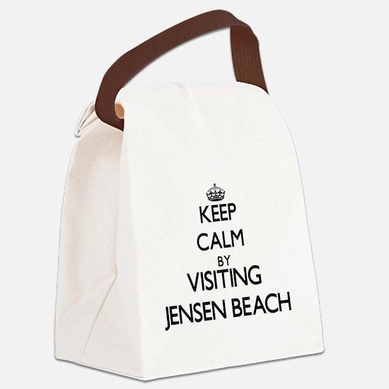 Cool Jensen beach florida Canvas Lunch Bag