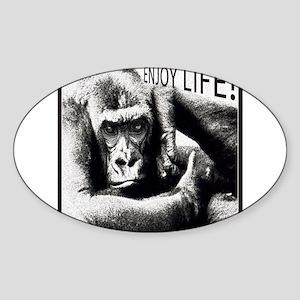 MonkeyLove Sticker (Oval)