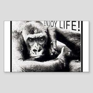 MonkeyLove Sticker (Rectangle)