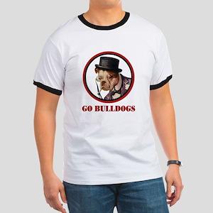 GO BULLDOGS Ringer T