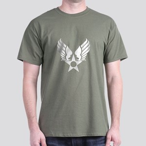 Winged Star Symbol Dark T-Shirt